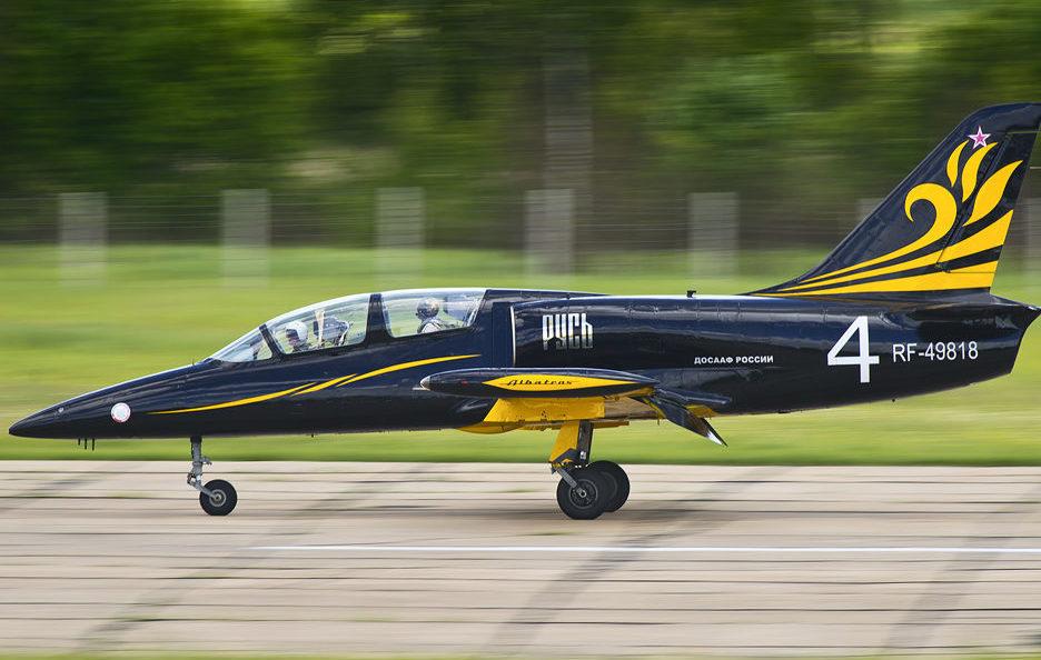 Л-39 пилотажной группы