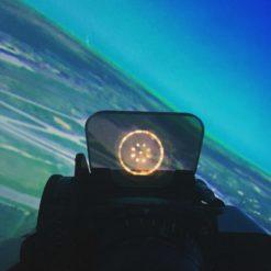 кабина тренажера самолета Л-39
