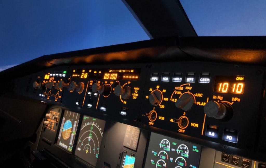 Полет на авиатренажере пассажирского самолета Airbus A320